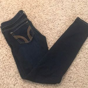 Hollister Dark Denim Skinny Jeans